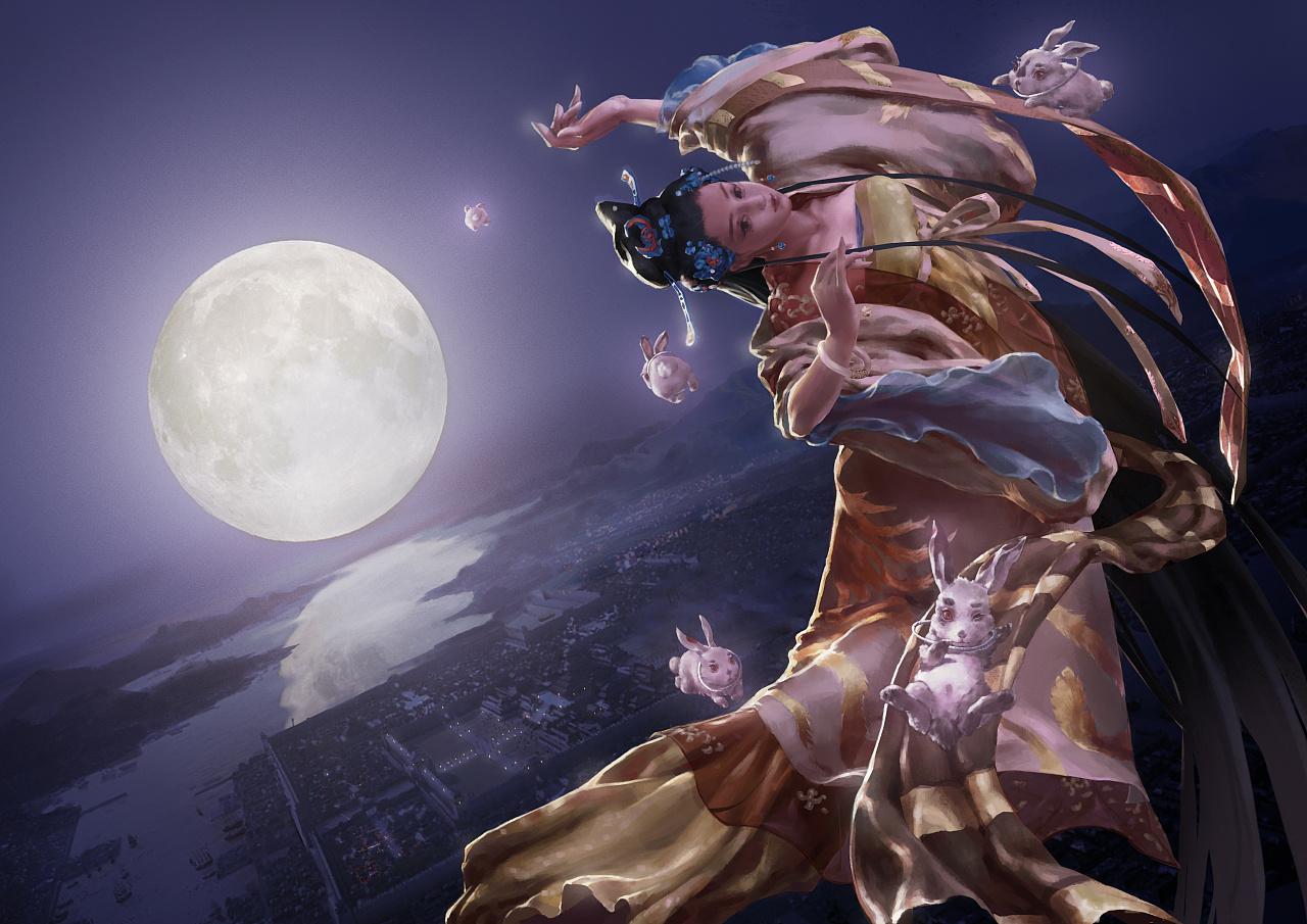 嫦娥奔月-神话