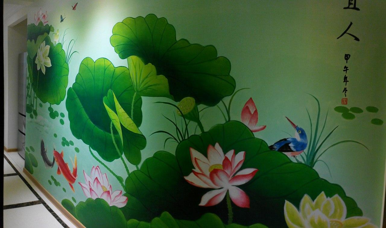 墙绘作品分享3图片