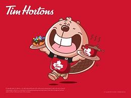 「Tim Hortons」咖啡品牌IP塑造|美潮案例