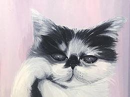 [油画]就喜欢你看不惯我又干不掉我的样子