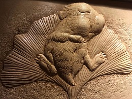 萌萌哒的一只皮塑仓鼠