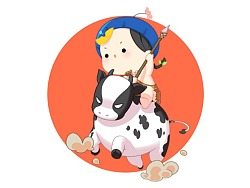 【壁纸×符录】众生皆小牛奶,你是最甜的那一罐