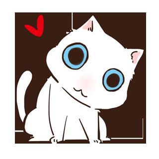 萌猫卡通手绘图片