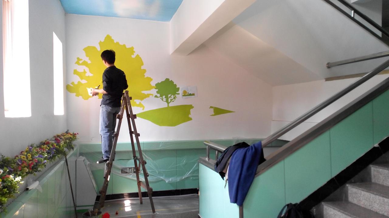 青岛绘美时尚装饰工程有限公司墙绘案例分享14