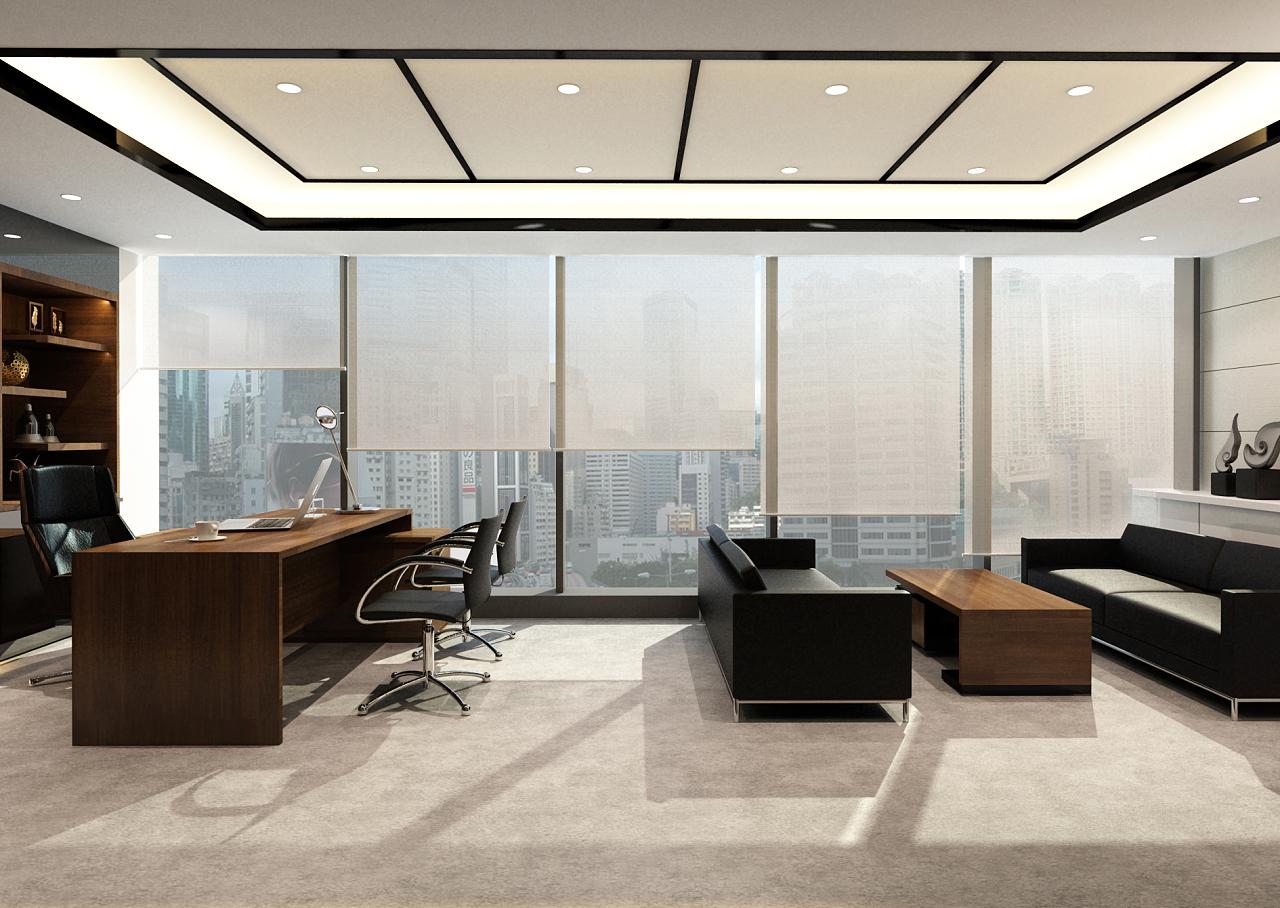 360度全景办公室效果图