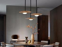 [木修远-檐]新中式客厅小吊灯