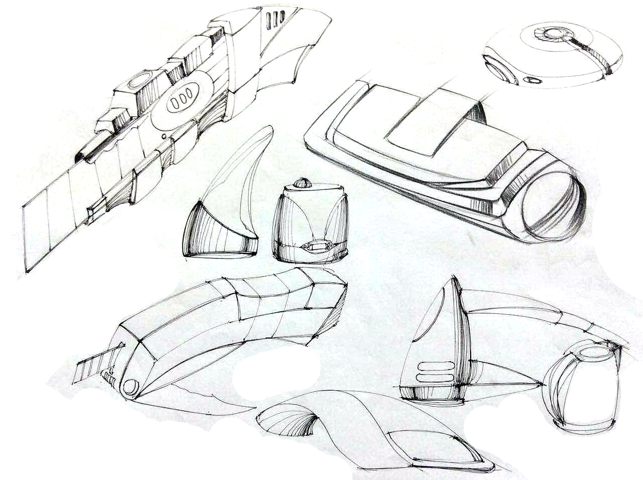产品设计——手绘