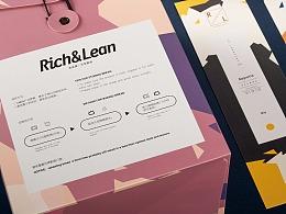 Rich&Lean 软欧包与黑面包的面包品牌形象设计