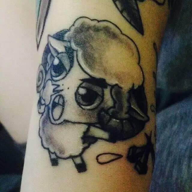 【my tattoo】近期纹身作品|其他|其他|小羊羔的小鸡