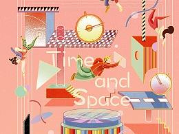 《时间与空间》——叙事性插图