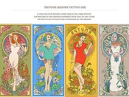 THE FOUR SEASONS TATTOO GIRL