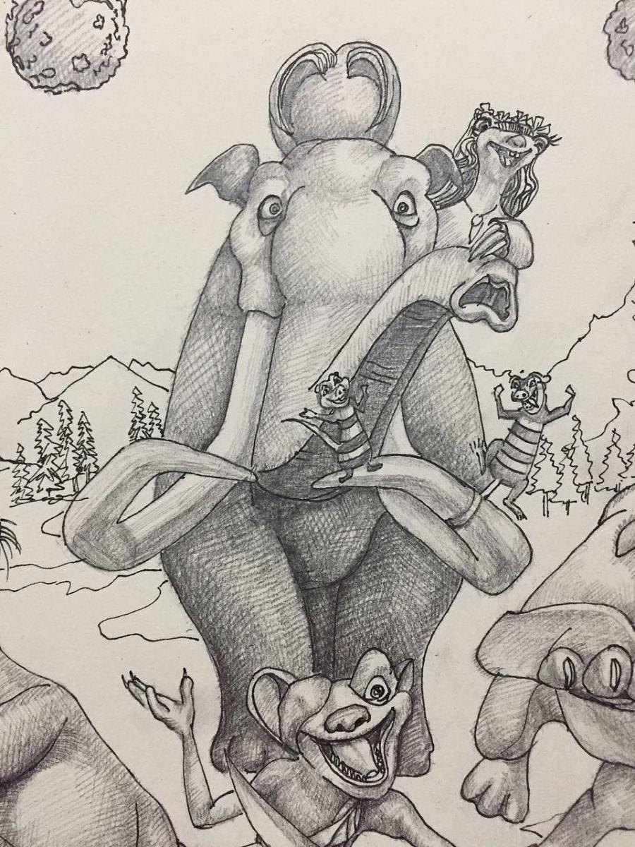 [手绘]冰川世纪5