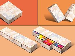 巨灵设计:月饼盒结构公版设计示意,不喜勿喷!
