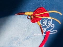 """王的手创 """"大圣捞月""""方巾"""