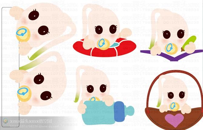 育儿日记本上的插画--xmx蒜头xmx画|涂鸦/潮流|插画