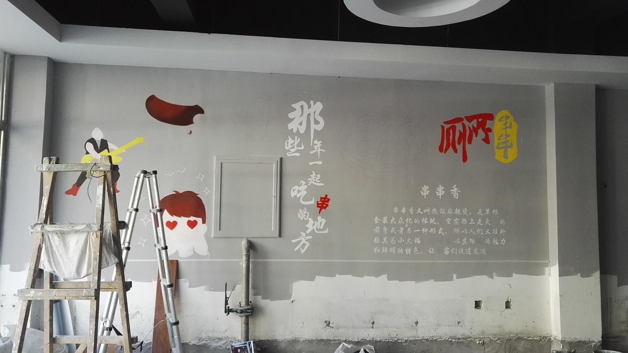 青岛绘美时尚装饰工程有限公司墙绘案例分享20