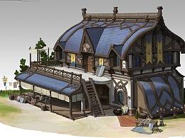 洛克猴单体建筑设计《武器库》