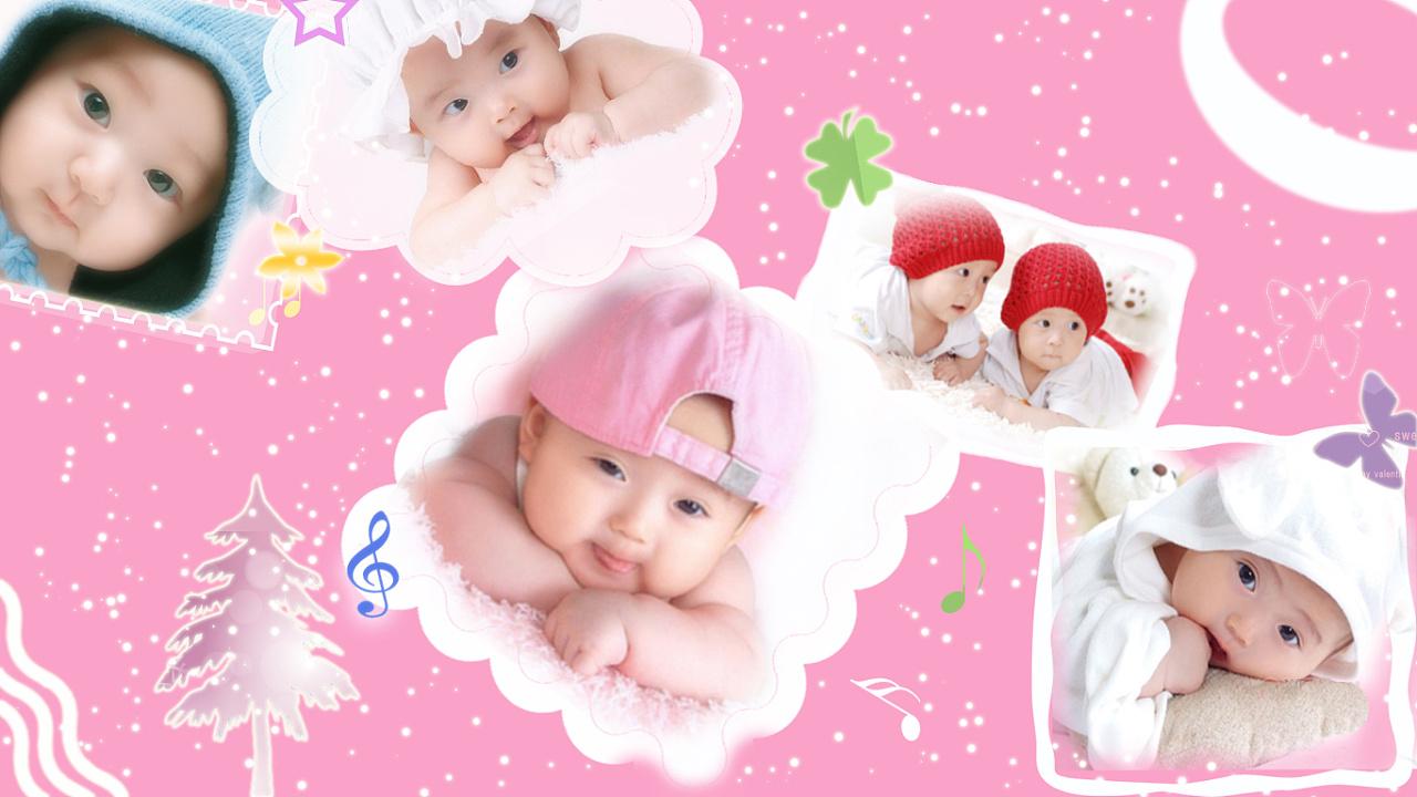 漂亮小宝宝桌面图片_可爱宝宝壁纸 平面 海报 末班车 - 原创作品 - 站酷 (ZCOOL)