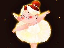胖胖自己的芭蕾舞团 ③