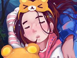 晚安,谢谢你