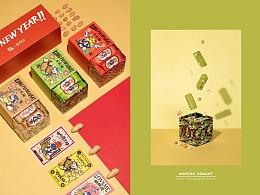 《武林怪兽》联名聚宝抽屉牛轧糖礼盒