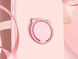 女性手机壳软壳粉红可爱俏皮详情页,2飞机