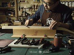 甲子工作室原创-我的百件皮具系列-手工皮带