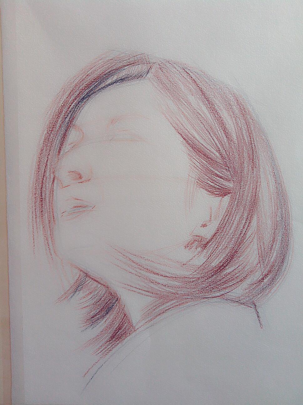 手绘彩铅画|纯艺术|彩铅|冈日森各 - 原创作品 - 站酷