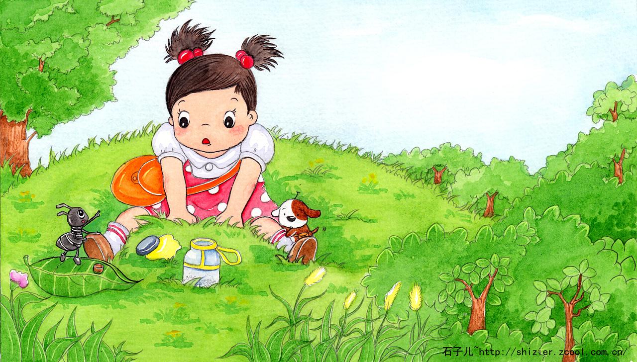 中国儿童出版社~手绘《一个哭出来的故事》|插画|儿童