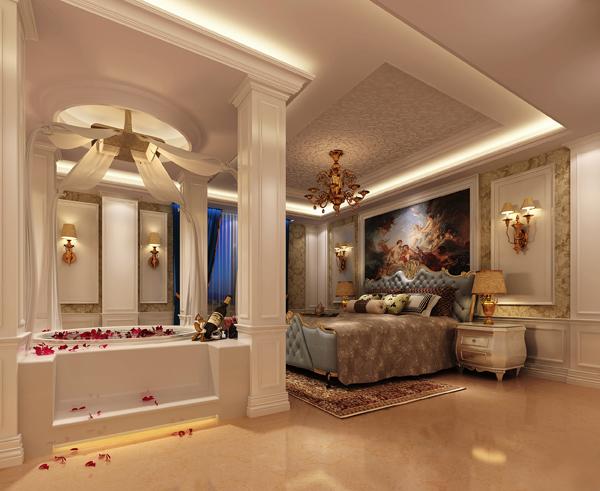 揭阳美容院设计效果图|郑州美容院装修设计公司图片