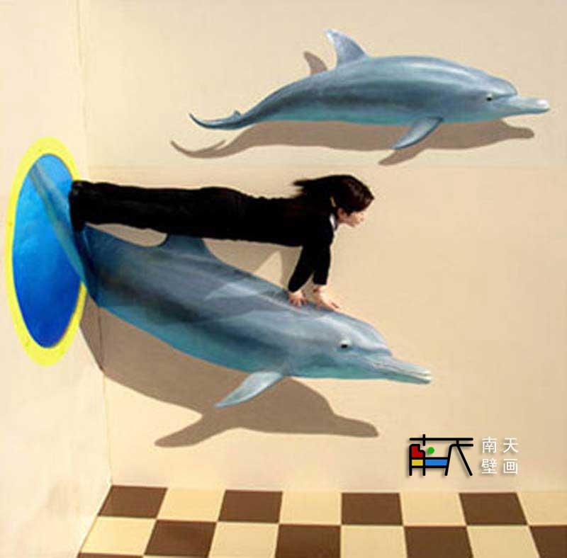 韩国3d奇异馆-海洋馆,油画,手绘油画,欧式油画,壁画,欧式壁画,壁画