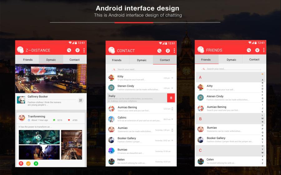 一款社交类的app|其他|其他|赵cccc - 原创设计