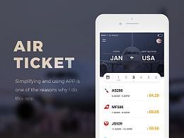 飞机票App设计
