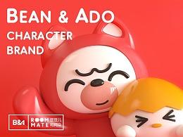 Bean&Ado   看鹿文化IP