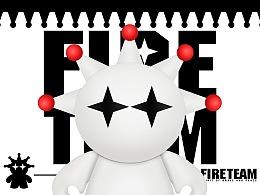 """原创潮牌""""FIRE TEAM"""""""