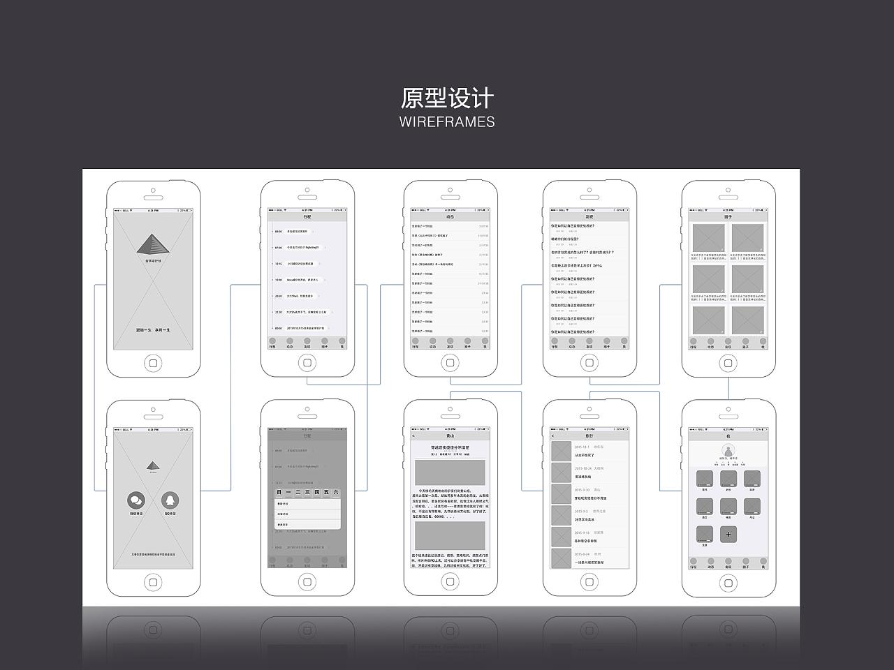 《金字塔计划》app界面设计|ui|app界面|梁开水