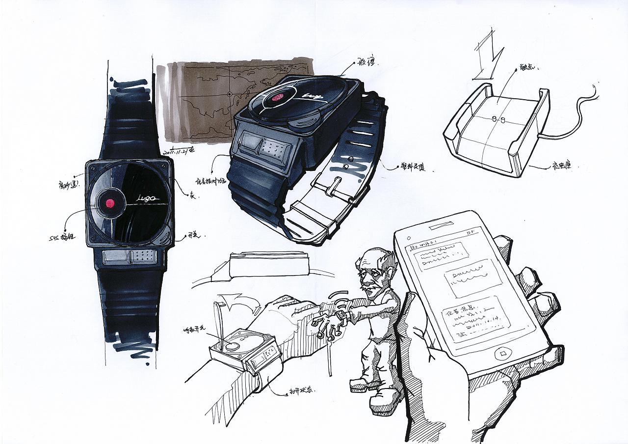 工业设计手绘效果图表现1|工业/产品|生活用品|李铁彬