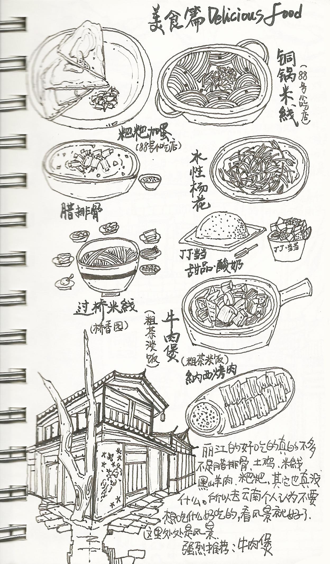 那时,我在丽江(美食)图片