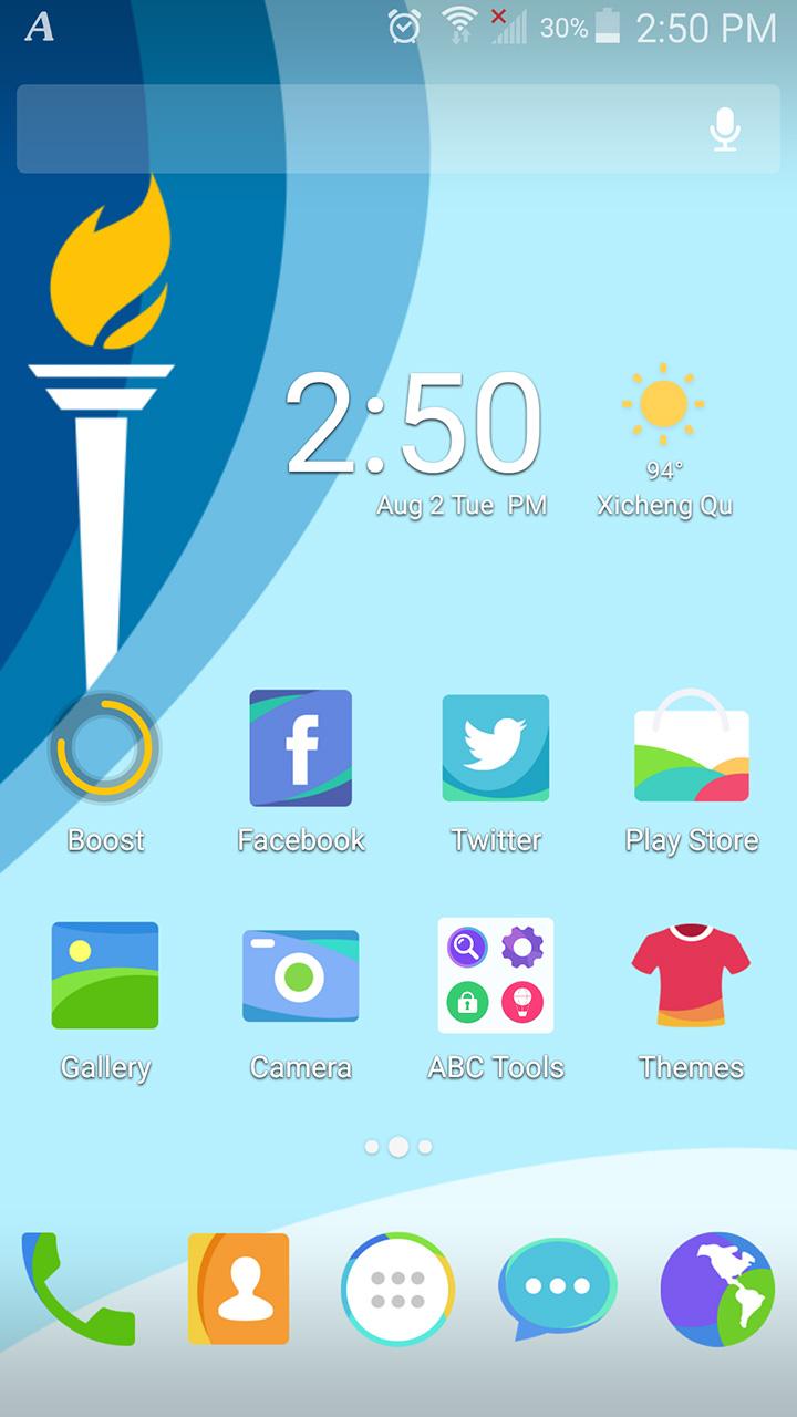 2016奥运会手机主题效果图01