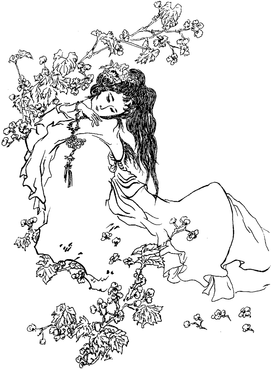 手绘红楼梦,三国人物(2000年6月)|插画|插画习作|zhou
