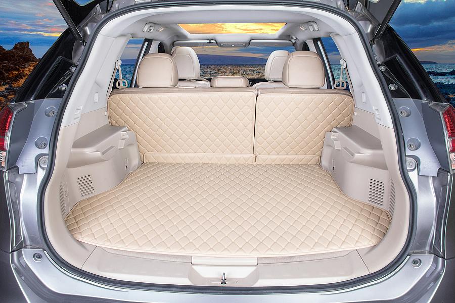 汽车脚垫后备箱垫摄影高清图片