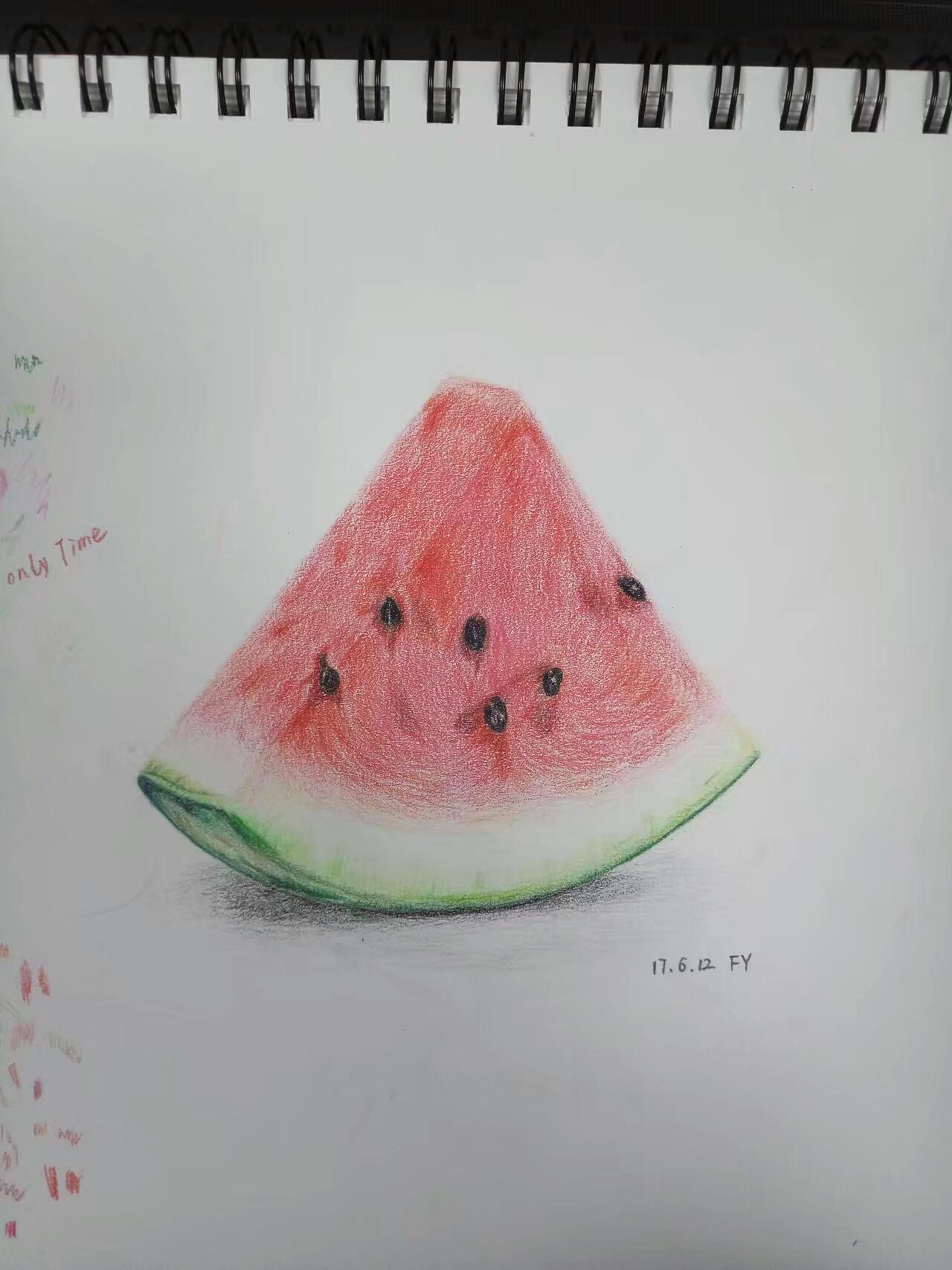 手绘-西瓜