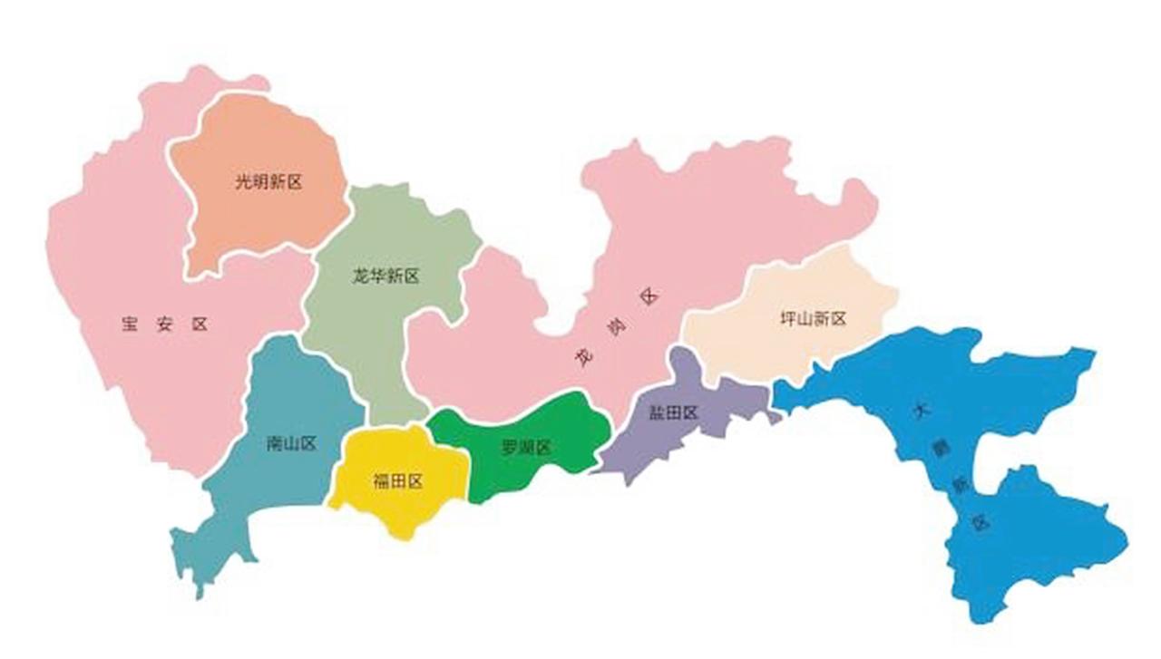 朕有创意—十兄弟(深圳地图)图片