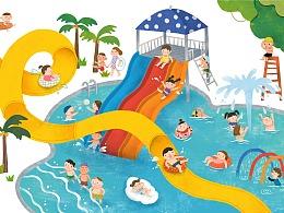 回忆中的水上乐园