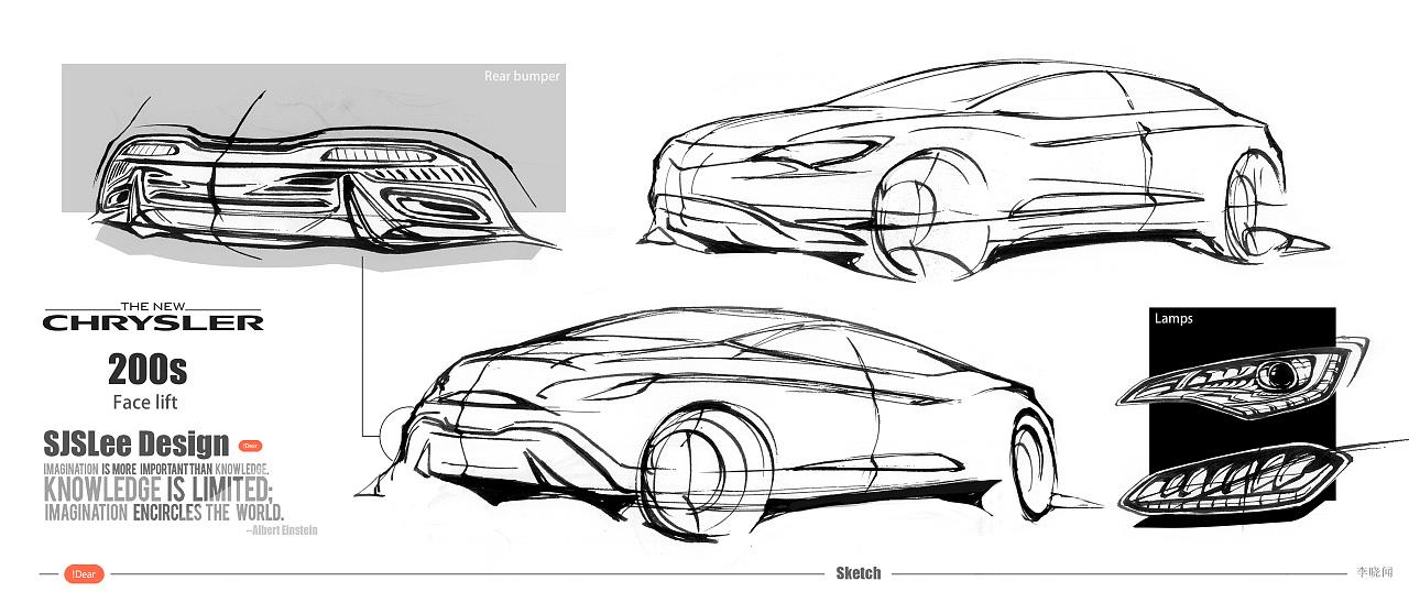 汽车设计手绘练习|工业/产品|交通工具|lesoln - 原创