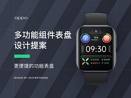 OPPO WATCH 功能组件表盘设计方案