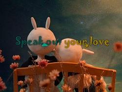 原创定格动画——毕业设计《speak out your love》