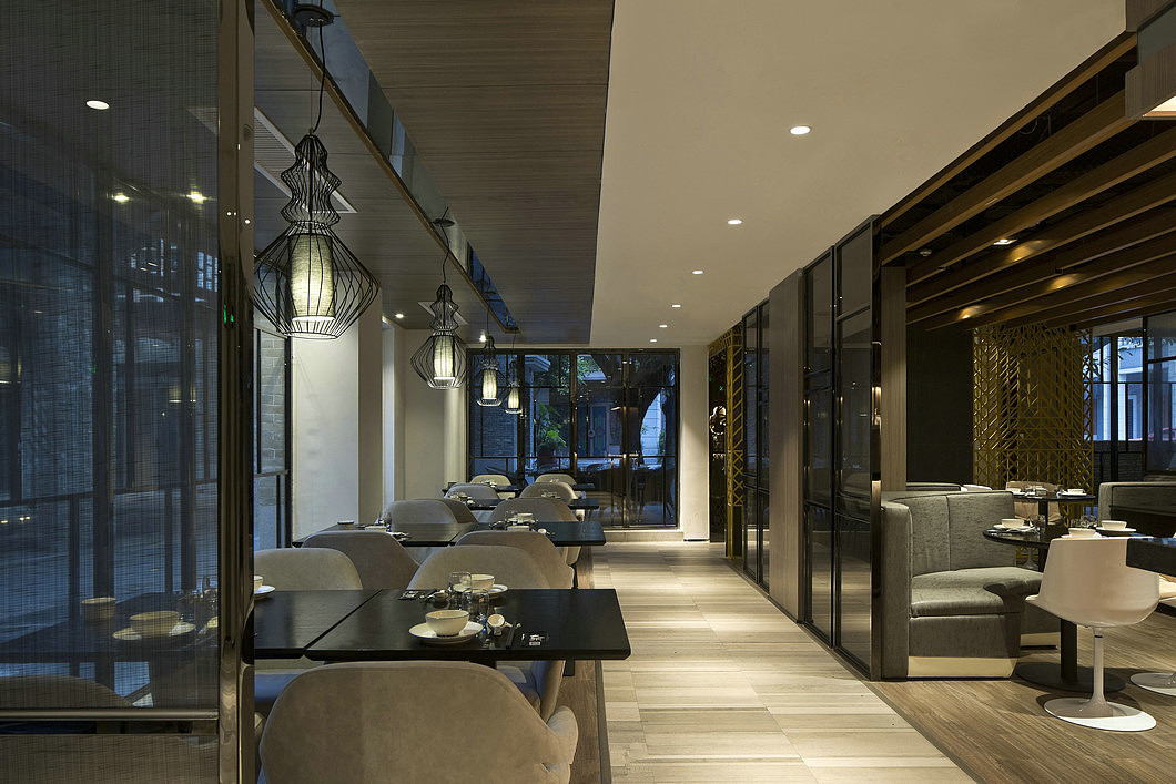 都江堰自助餐厅设计图-自助餐厅装修公司