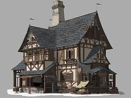 中世纪单体建筑设计