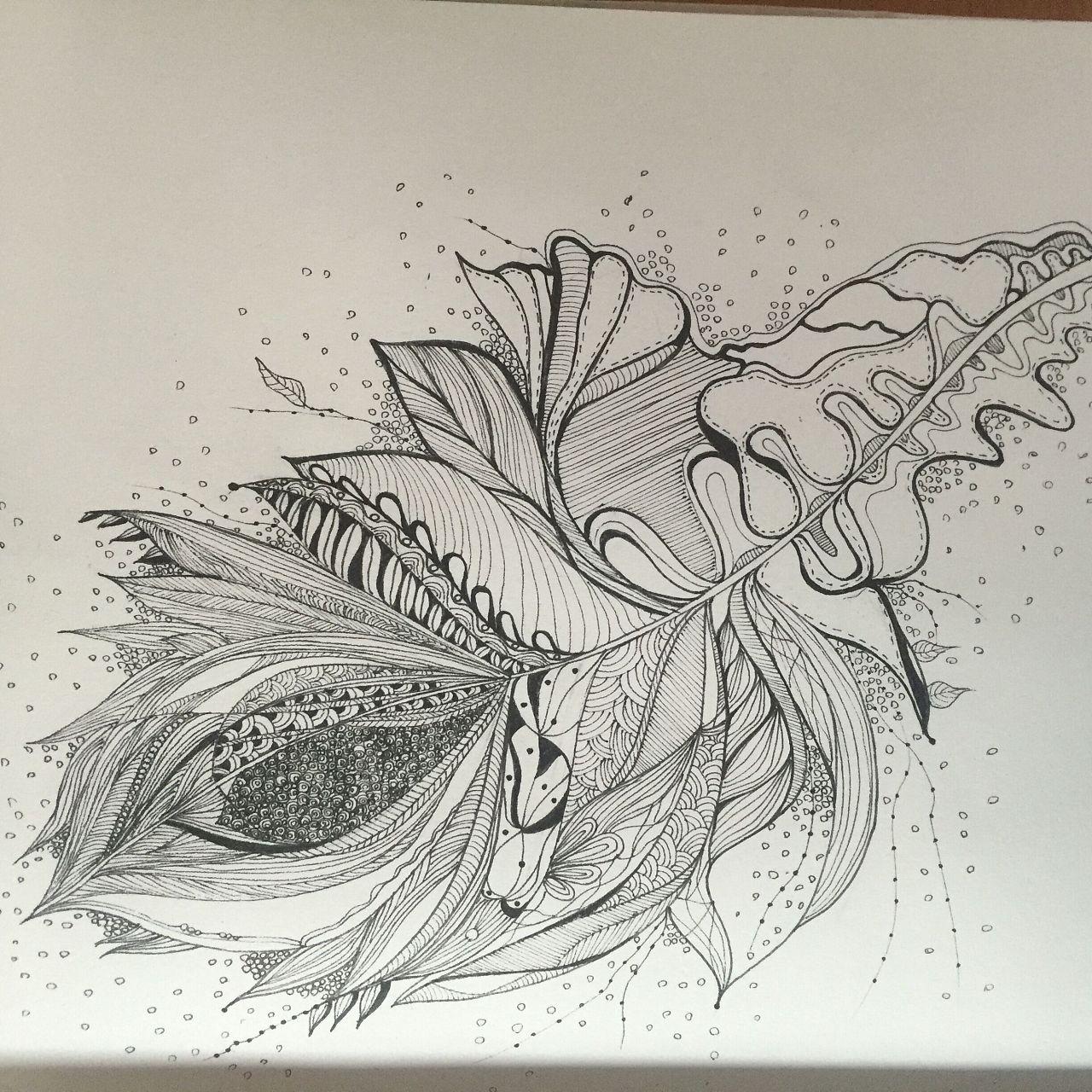 黑白插画.水彩.手绘板